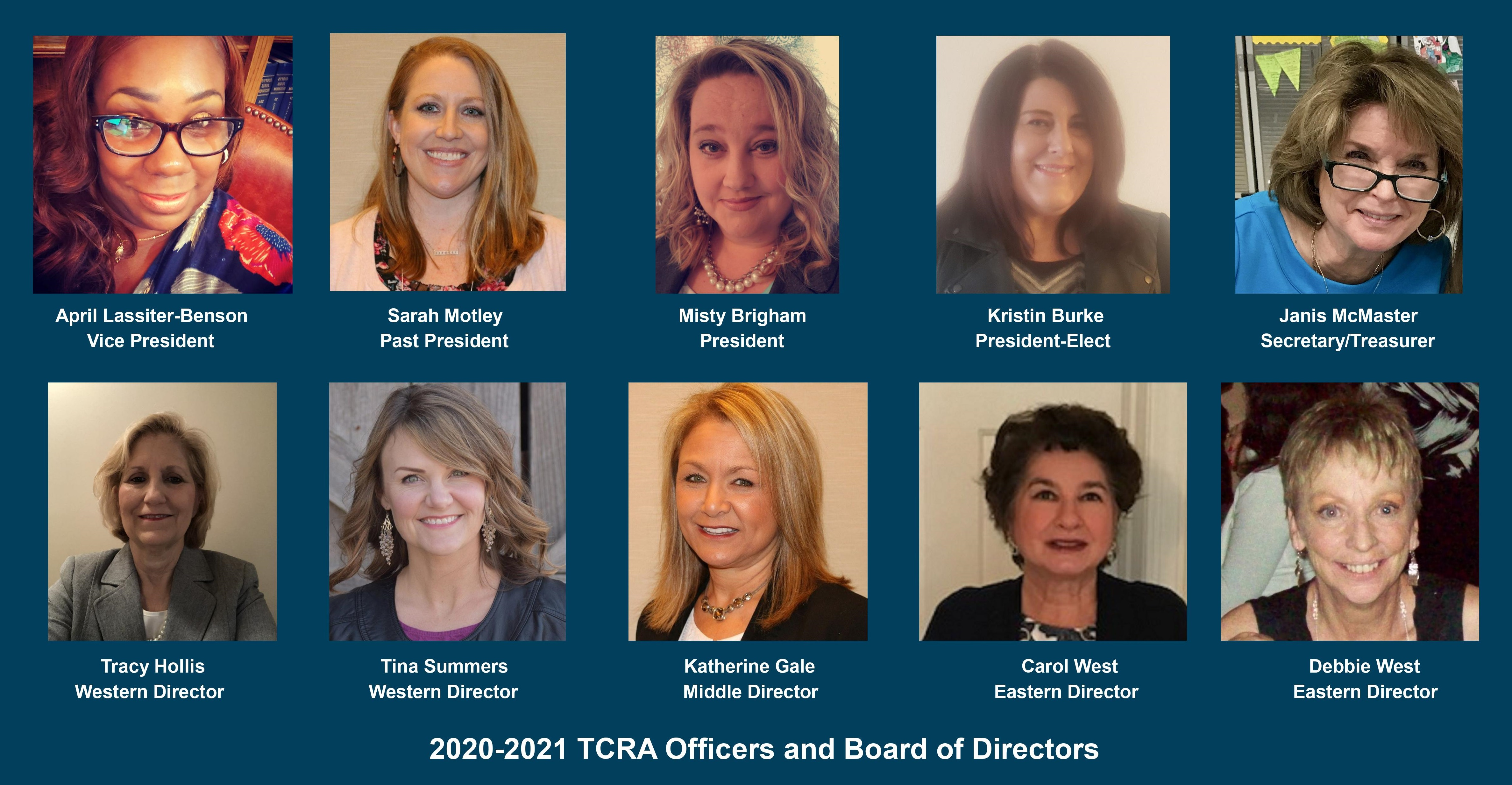 2020 2021 Officers and Board of Directors